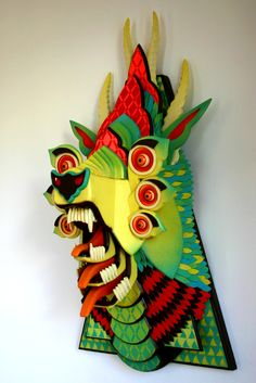 AJ Fosik is an American artist, born in Detroit, Michigan. He is best known for his carefully crafted and vividly colored wooden sculptures. Sculpture Art, Metal Sculptures, Abstract Sculpture, Bronze Sculpture, Psy Art, Paper Art, Art Projects, Contemporary Art, Street Art