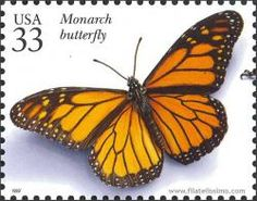 Monarch butterfly--US Stamp