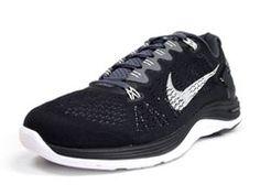 brand new e77aa aaca7 Nike LUNAR GLIDE+ 5 BLK WHT ナイキ NIKE