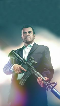 Grand Theft Auto V Michael De Santa