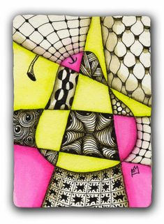 Tangles and Stuff : In the Style of Cubism - Swap