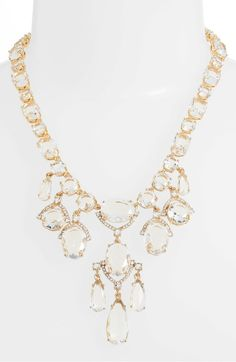 Main Image - kate spade new york crystal statement necklace