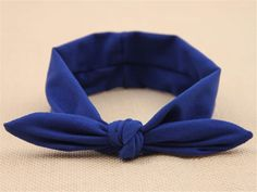 Meritina Baby girls Cute with Rabbit Ears Bow Headband Hairbands (Royal blue) by Meritina makeup -- Details can be found by clicking on the image.