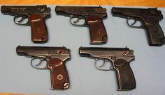 Makarov pistols!