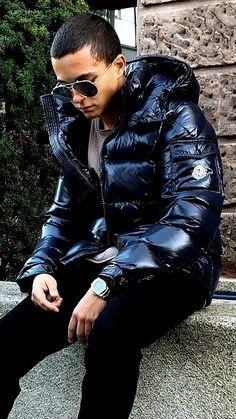Cool Jackets, Winter Jackets, Men's Jackets, Mens Down Jacket, Pvc Raincoat, Moncler, Puffer Jackets, Beautiful Men, Hot Guys