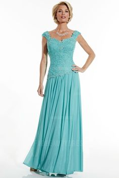 A-Line/Princess Sweetheart Floor-length Chiffon Mother of the Bride Dress