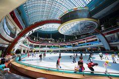Lotte World Ice Skating rink Korea's best ice skating rink.