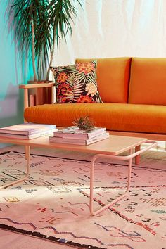 Carlton Wooden Coffee Table, Urban Outfitters, $139.99