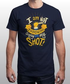 """My Shot"" is today's £8/€10/$12 tee for 24 hours only on www.Qwertee.com Pin this for a chance to win a FREE TEE this weekend. Follow us on pinterest.com/qwertee for a second! Thanks:)"