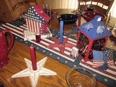Tablescapes: Americana Tablescape