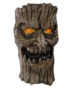 Tree Door Knocker Animatronic - Spirithalloween.com