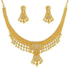 Indian gold jewelry designs