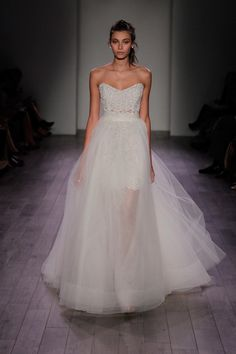 8613 by Jim Hjelm two in one wedding dress