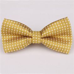 Mantieqingway Brand Dot & Solid Ties Bowtie Polyester Men's Bow Tie Business Shirts Bowknot Bow Ties Cravats for Children Gift