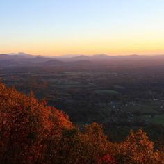 Wanderlust Wednesday -- The Blue Ridge Mountains! Hey there orange! I see you! Can not get enough of these mountain views especially during the fall. This was taken at Roanoke Mountain Overlook right after sunrise. Roanokers if you've never been here go! Drive up to Mill Mountain but don't turn right like you're going to the star just keep going until the road dead ends. That will be the Blue Ridge Parkway. Turn left (north) and then make a very immediate right (Careful - the sign is small)…
