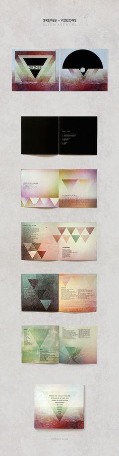 Grimes Album Artwork by Susi Rik, via Behance