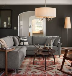 Hastings Sectional Sofa - Left Arm - | Rejuvenation