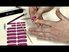 Check out how easy Jamberry nail wraps are to apply. Trust me if I can do it, so can you! lol. :P  www.nailz4all.jamberrynails.com