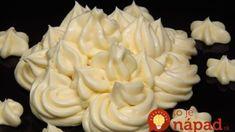 Krém diplomat: Konečne fantastický krém na plnenie aj na zdobenie, výborne drží a chuť božská – pripomína vanilkovú zmrzlinu! Icing, Pie, Cupcakes, Food, Trifle Desserts, Raffaello, Pinkie Pie, Cupcake, Fruit Flan