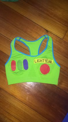 #DIY Buzz Lightyear costume. This was the top portion of my costume! #BuzzLightyear