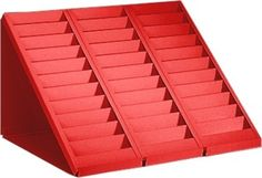"""Quality """"Made In PA, USA"""" swipe card ID card racks are available in 13 colors. Swipe Card, Id Badge, Business Card Holders, Card Sizes, Desk, Pocket, Organising, Cards, Gift Wrapping"""