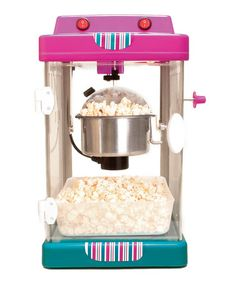 Loving this Magenta Retro Popcorn Maker on #zulily! #zulilyfinds