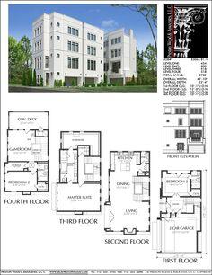 Townhome Plan E3064 B1.1