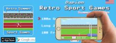 We did it! #Retro Sport Games Summer Edition ist out now for #ios *Link: https://appsto.re/de/e-qOdb.i  #gamedev #gameday #indiedev #pixelart #c64 #c64games #commodore #instadaily #instaart #try it out...