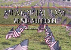 Memorial Day #openplainspx www.openplainspx.com