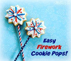 Who's ready for the weekend?!🇺🇸💥🗽🎉#july4th #fireworks #cookiepops #celebratewithcookies  #happyindependenceday