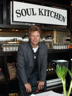 Jon Bon Jovi's Soul Kitchen-A restaurant that has no prices.  Guests pay what they can afford or either they volunteer there to help pay for their meal.   What if all restaurants operated on this premise?? How different the world could be!