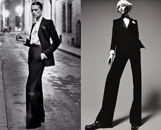 INTO THE FASHION: INSPIRATION YVES SAINT LAURENT 1966 ...DSquared AD SS//2011