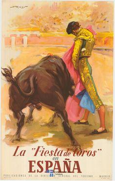La fiesta de los toros, España.