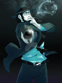 Jigen Daisuke by Afterlaughs.deviantart.com on @DeviantArt