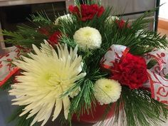 Christmas Centerpiece Workshop Sat space limited preregristration needed more details coming shortly Christmas Wreaths, Christmas Gifts, Christmas Centerpieces, Greenery, Floral Design, Workshop, Online Tests, Making Tools, Make It Yourself