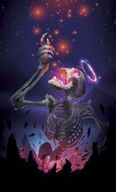 DeviantArt - Discover The Largest Online Art Gallery and Community Fantasy Kunst, Fantasy Art, Tom E Jerry, Skeleton Art, Horror Art, Skull Art, Online Art Gallery, Dark Art, Things To Draw