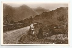 POSTCARD-SCOTLAND-GLEN SHIEL-RP. Scur Uran from General Wade's Bridge. in Collectables, Postcards, Topographical: British, Scotland, Ross & Cromarty | eBay