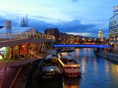 Donaukanal-Wien... Vienna, Austria, Opera House, Building, Travel, Pictures, Viajes, Buildings, Destinations