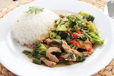 Hot basil wok