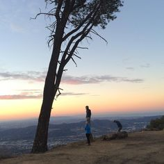An awesome Virtual Reality pic! Amazing sunrise hike this morning with director team WATTS to film a virtual reality video of the tree and the hike where you guys can truly feel what it's like to be there. YES it's going to be amazing! Stay tuned :). #projectprayerbox #virtualreality #360degrees #VR #prayer #box #adventure #gopro #hiking #sunrise #losangeles #project #faith #god by projectprayerbox check us out: http://bit.ly/1KyLetq