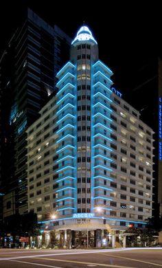 Exterior facade light