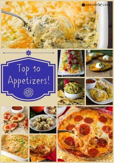 Top 10 Best Appetizers Ever!