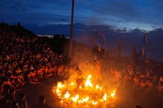 "In Bali, ""Island of a Thousand Temples"". Uluwatu Pura (Temple). ""Ramayana Dance and the Circle of Fire"""