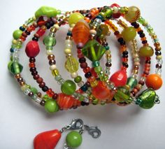 Weight Loss Bracelet Track Weight Watchers by GinnyRiggle on Etsy, $18.00