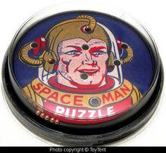 dexterity puzzle...Space Man