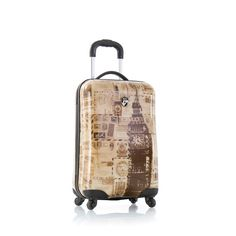Rockland Luggage 20 Inch Carry On Spinner Hardcase Expandable ...