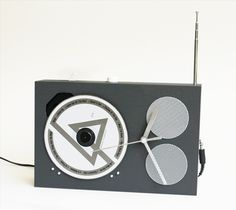 Make a DIY Modern, Dieter Rams - Inspired CD & iPod Stereo