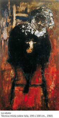 Luis Felipe Noé, La idiota, 1960
