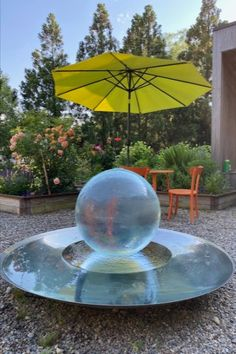 Sharing some fun ⛱ summer ☀️ pics of the Aqualens basking under the sun rays of a beautiful bright day! Order yours today: www.allisonarmour.com #spherefountain #gardendesign #gardenart #landscapedesign #waterfountain #waterfeature #luxurydesign #luxuryliving #gardendesignmag #orbfountain #gardensculpture #outdoorlivingspace #luxe #homesandgardens #houseandgarden #betterhomesandgardens Summer Pics, Summer Pictures, Landscape Design, Garden Design, Sun Rays, Better Homes And Gardens, Luxury Living, Some Fun, Water Features
