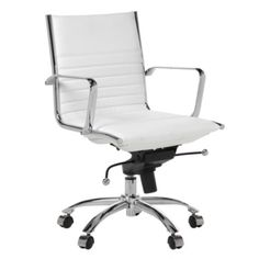 malcolm office chair white office furniture z gallerie black and white office furniture